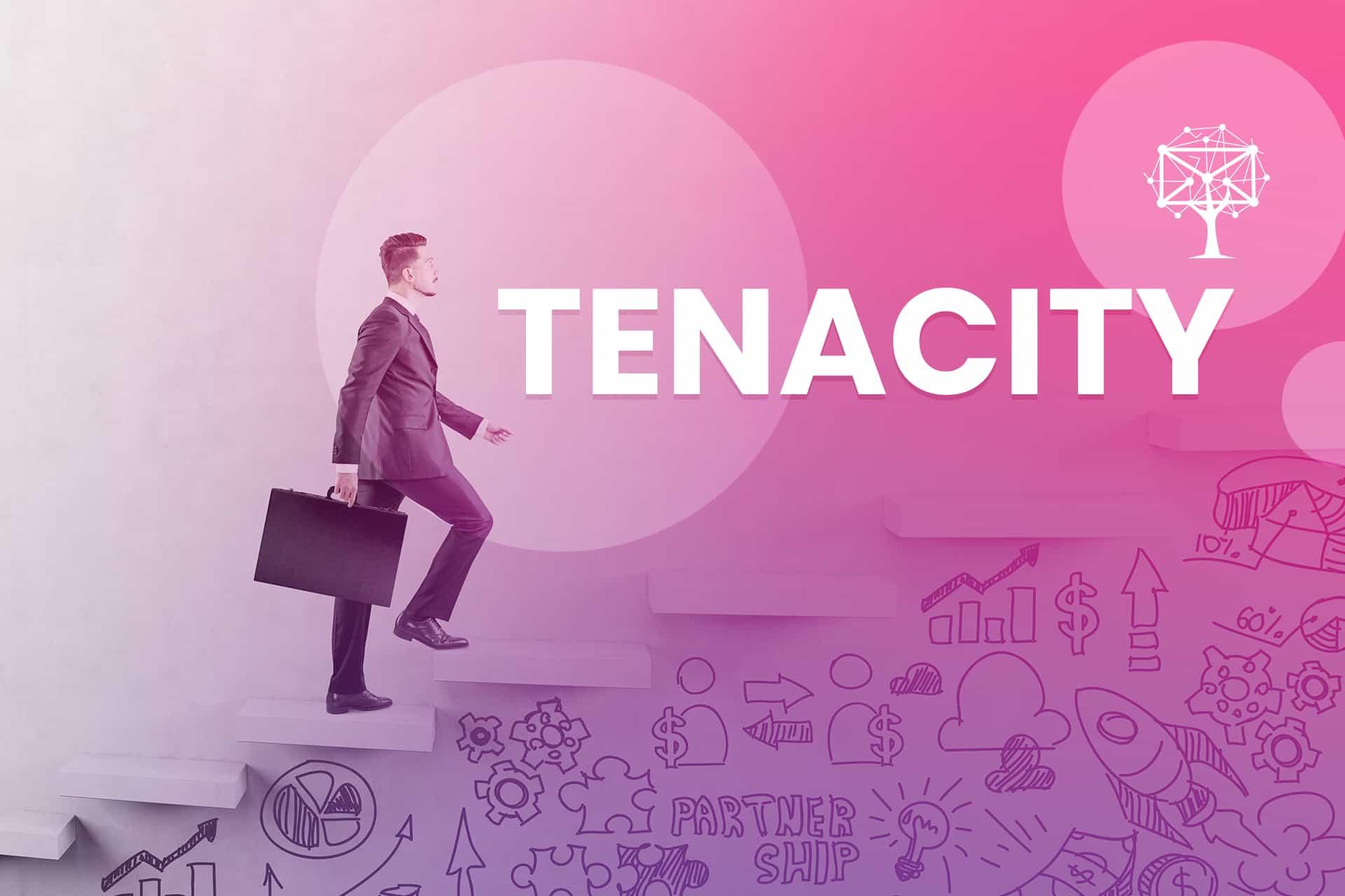 Tenacity is a customer service skill