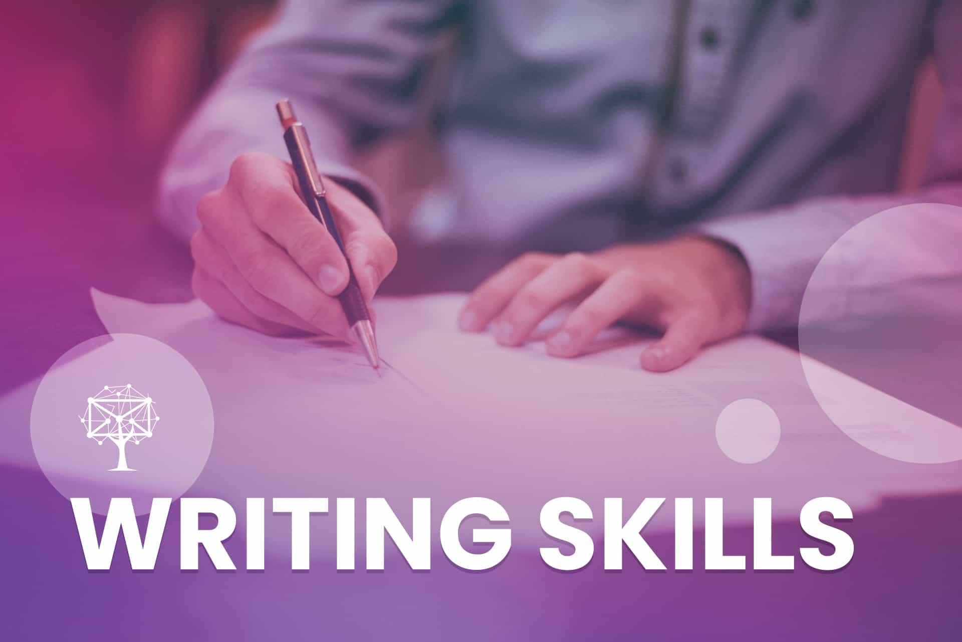 Writing Skills is a customer service skill